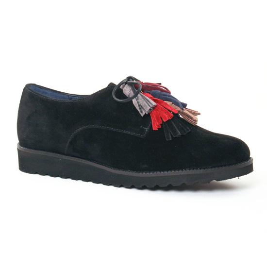 Chaussures À Lacets Pintodiblu 20461 Multi Noir, vue principale de la chaussure femme