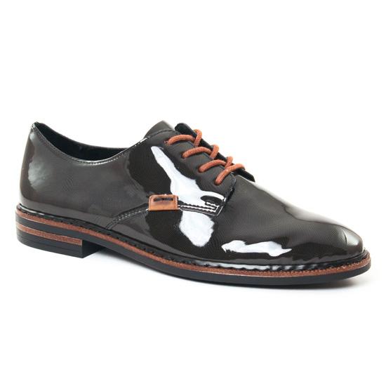 Chaussures À Lacets Rieker 50614 Gris, vue principale de la chaussure femme