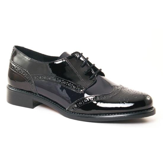 Chaussures À Lacets Scarlatine 22003 H Noir Atlantic, vue principale de la chaussure femme