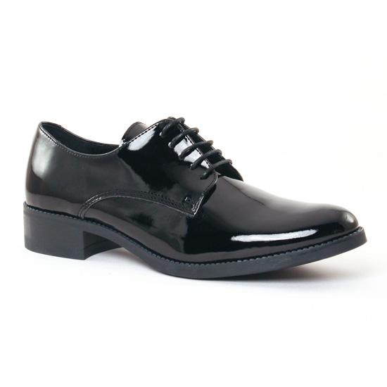 Chaussures À Lacets Scarlatine 6706 Noir, vue principale de la chaussure femme