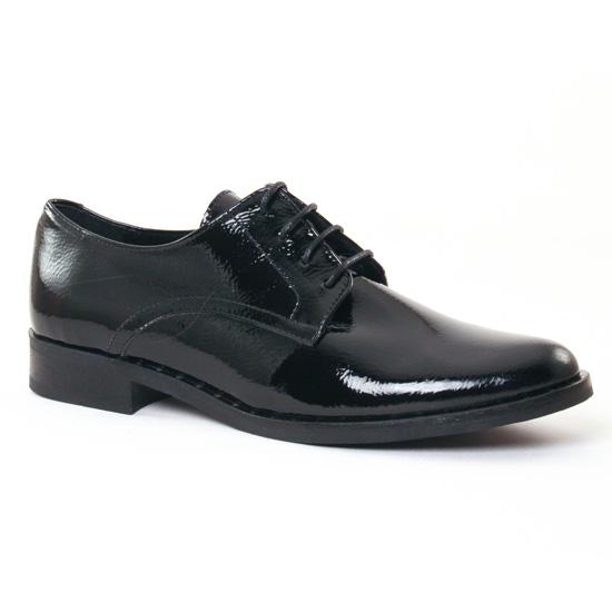 Chaussures À Lacets Scarlatine 7200 Noir, vue principale de la chaussure femme
