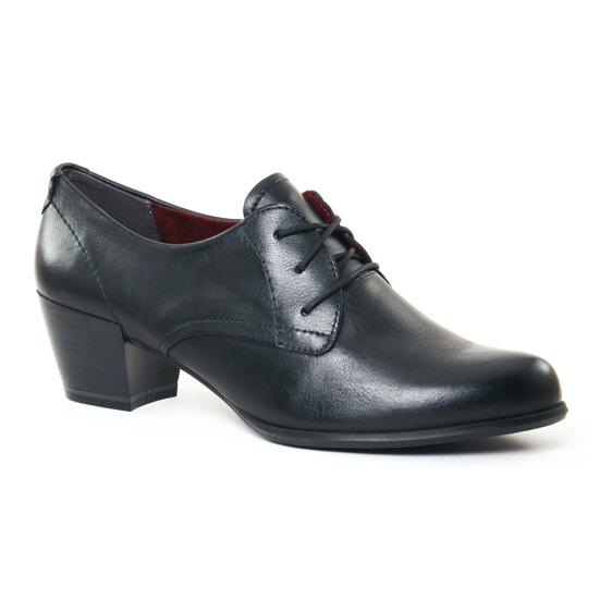 Chaussures À Lacets Tamaris 23305 Black, vue principale de la chaussure femme