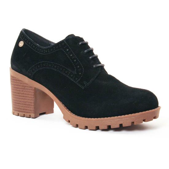 Chaussures À Lacets Carmela 65772 Black, vue principale de la chaussure femme
