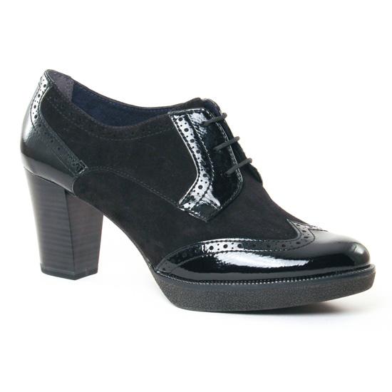 Chaussures À Lacets Tamaris 23311 Black, vue principale de la chaussure femme