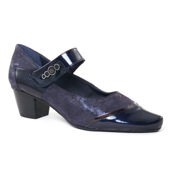 Escarpins Dorking Triana 7252 Marine, vue principale de la chaussure femme