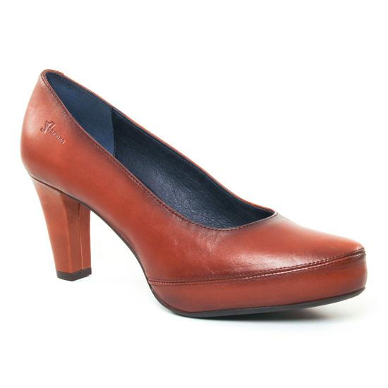 Escarpins Dorking Blesa 5794 Cuero, vue principale de la chaussure femme