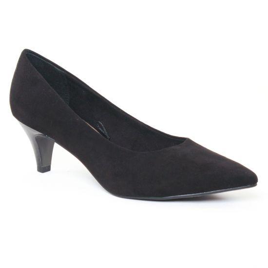 Escarpins Tamaris 22415 Black Structure, vue principale de la chaussure femme