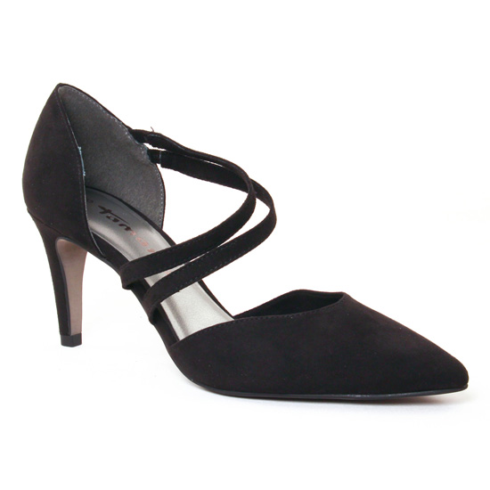Escarpins Tamaris 24406 Black, vue principale de la chaussure femme