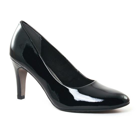 Escarpins Tamaris 22465 Black Patent, vue principale de la chaussure femme