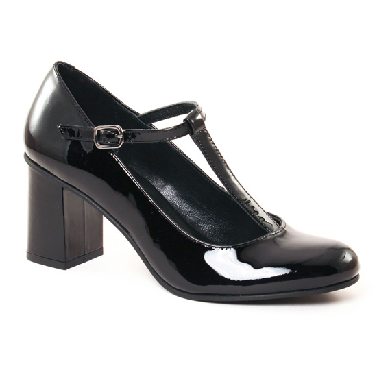 Escarpins Scarlatine 55238 A Noir, vue principale de la chaussure femme