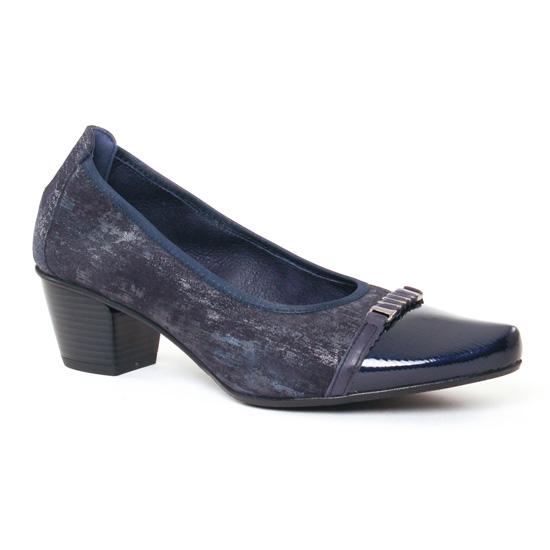 Escarpins Dorking Triana 7249 Marine, vue principale de la chaussure femme