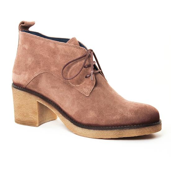 Bottines Et Boots Pintodiblu 79381 Taupe, vue principale de la chaussure femme