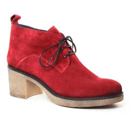 Bottines Et Boots Pintodiblu 79381 Rouge, vue principale de la chaussure femme