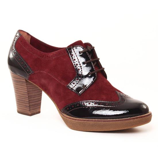 Chaussures À Lacets Tamaris 23311 Bordeaux, vue principale de la chaussure femme
