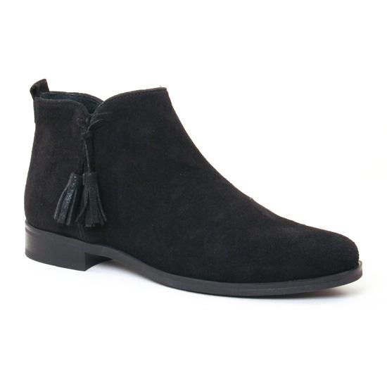 Bottines Et Boots Scarlatine 7658 Noir, vue principale de la chaussure femme