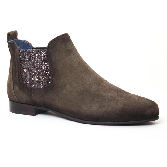 Bottines Et Boots Pintodiblu 79623 Kaki, vue principale de la chaussure femme