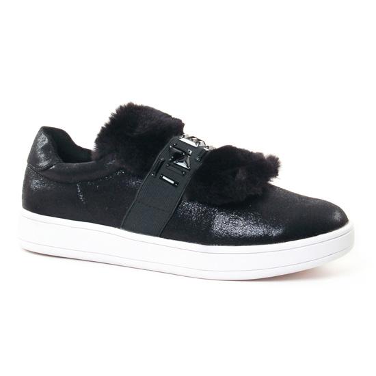 Tennis Et Baskets Mode Buffalo 16T44-1 Black, vue principale de la chaussure femme