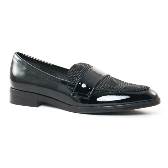 Mocassins Jb Martin Facile Vernis Noir, vue principale de la chaussure femme