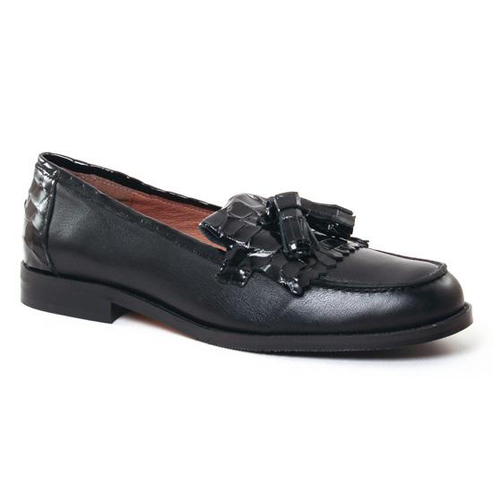 Mocassins Maria Jaen 5626N Negro, vue principale de la chaussure femme