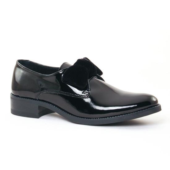 Chaussures À Lacets Scarlatine 7423 Noir, vue principale de la chaussure femme