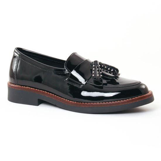 Mocassins Scarlatine 7955 Noir, vue principale de la chaussure femme