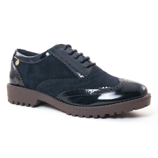 Chaussures À Lacets Carmela 65685 Navy, vue principale de la chaussure femme
