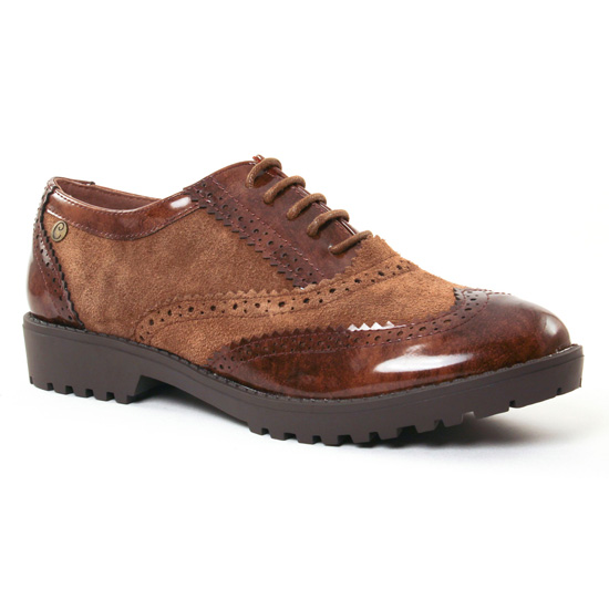 Chaussures À Lacets Carmela 65685 Camel, vue principale de la chaussure femme