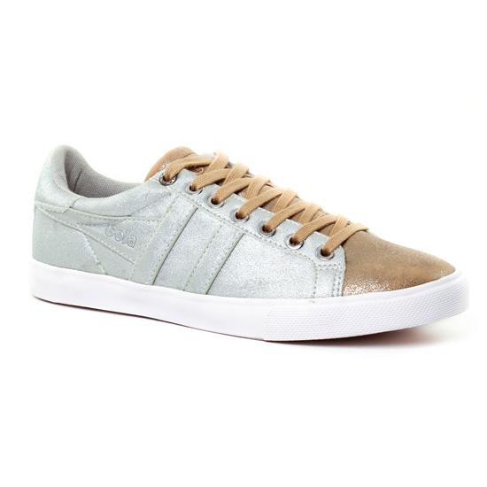 Tennis Et Baskets Mode Gola Orchid Silver, vue principale de la chaussure femme