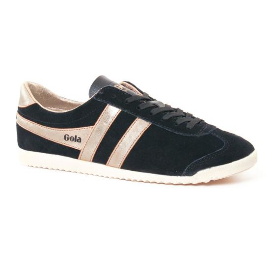 Tennis Et Baskets Mode Gola Bullet Black, vue principale de la chaussure femme