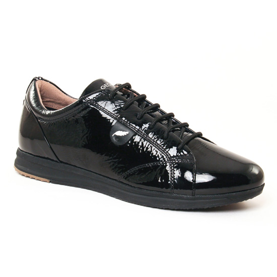 Tennis Et Baskets Mode Geox D44H5B Black, vue principale de la chaussure femme