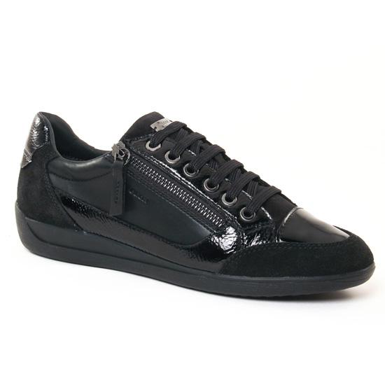 Tennis Et Baskets Mode Geox D6468A Black, vue principale de la chaussure femme