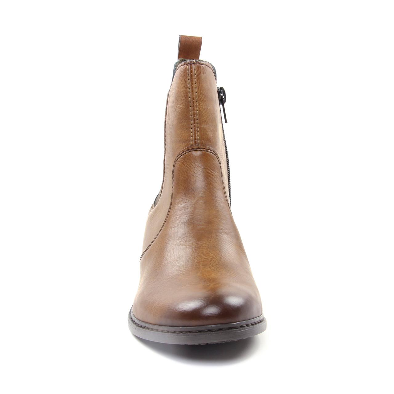 Rieker 77694 22 Chestnut   boot élastiquées marron automne