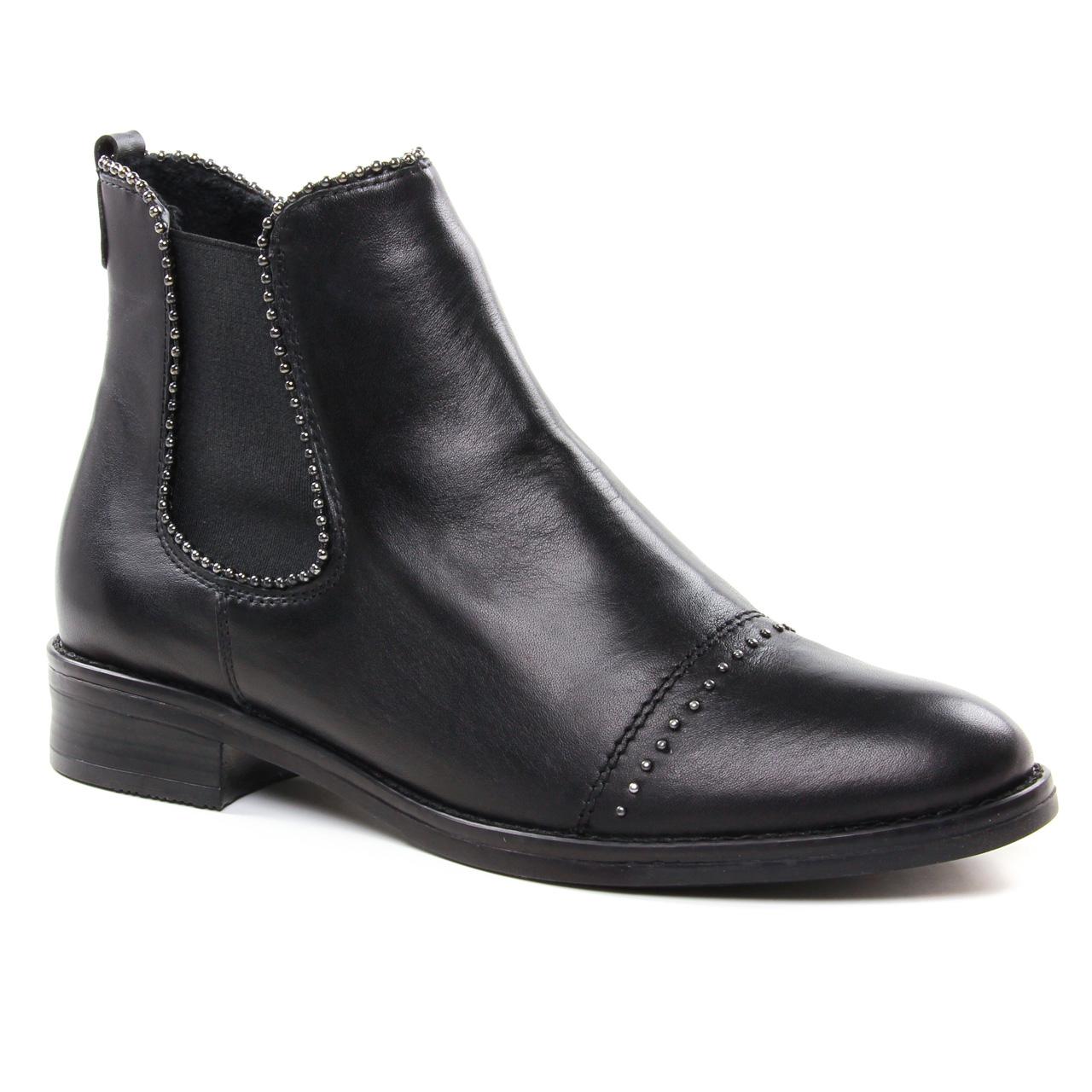 08cf554be9ee Remonte D8587 Schwarz   boot élastiquées noir automne hiver chez ...