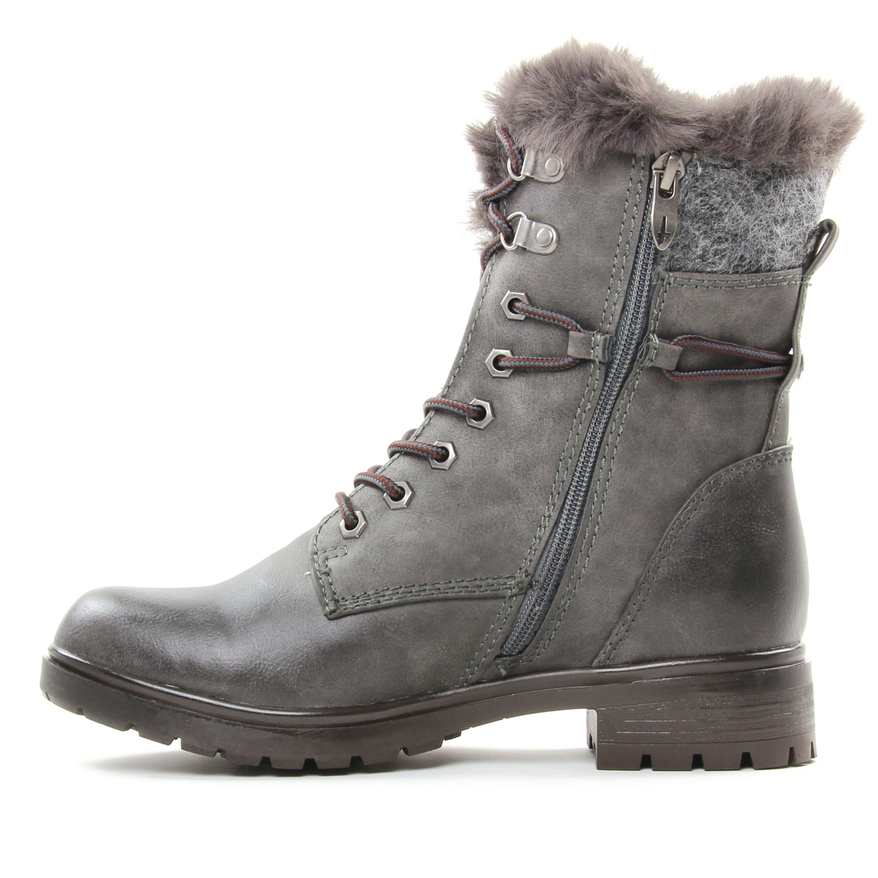 Collections Snowy Tamaris Bottines Et Boots Femme Nut
