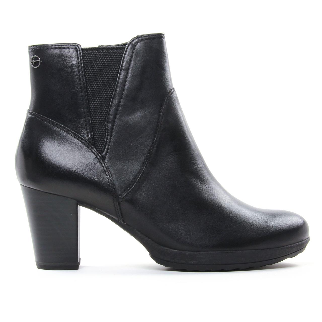 Tamaris 25324 Black | boot talon noir automne hiver chez