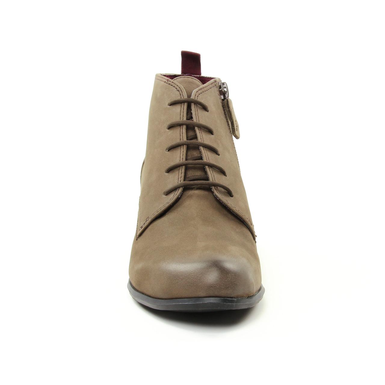 Tamaris 25115 Cigare | low boots taupe automne hiver chez