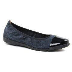 ballerines bleu marine: même style de chaussures en ligne pour femmes que les Caprice