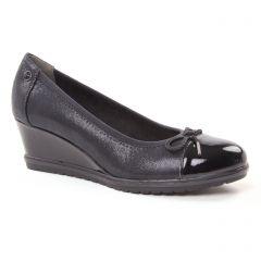 ballerines-talons-compenses noir: même style de chaussures en ligne pour femmes que les Tamaris