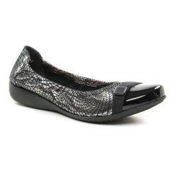 ballerines gris argent: même style de chaussures en ligne pour femmes que les Tamaris
