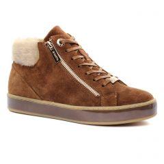 baskets-fourrees marron: même style de chaussures en ligne pour femmes que les Jb Martin