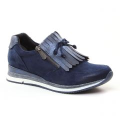 Chaussures femme hiver 2018 - baskets mode marco tozzi bleu