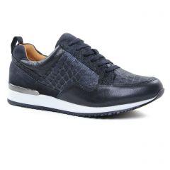 baskets-mode bleu marine: même style de chaussures en ligne pour femmes que les Jb Martin