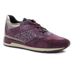 baskets-mode bordeau or: même style de chaussures en ligne pour femmes que les Remonte