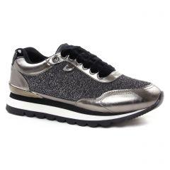 baskets-mode gris argent doré: même style de chaussures en ligne pour femmes que les Gioseppo