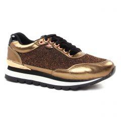 baskets-mode marron doré: même style de chaussures en ligne pour femmes que les Remonte