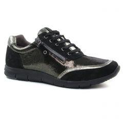 Caprice 23601 Gun Metal : chaussures dans la même tendance femme (baskets-mode noir doré) et disponibles à la vente en ligne
