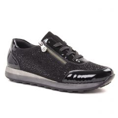 Rieker K2804-01 Schwarz : chaussures dans la même tendance femme (baskets-mode noir) et disponibles à la vente en ligne