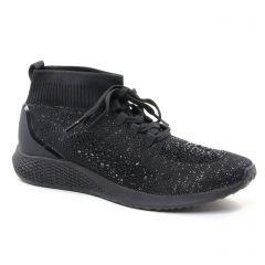 baskets-mode noir: même style de chaussures en ligne pour femmes que les Tamaris