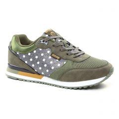 baskets-mode vert gris: même style de chaussures en ligne pour femmes que les Geox