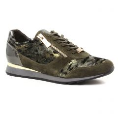 baskets-mode vert kaki: même style de chaussures en ligne pour femmes que les Jb Martin